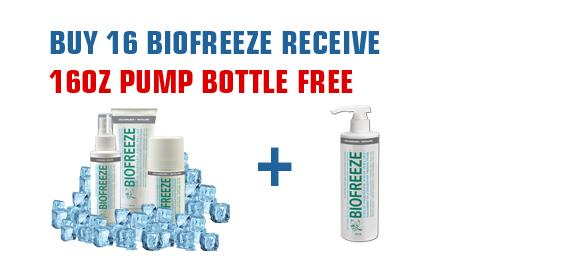 Biofreeze Promo