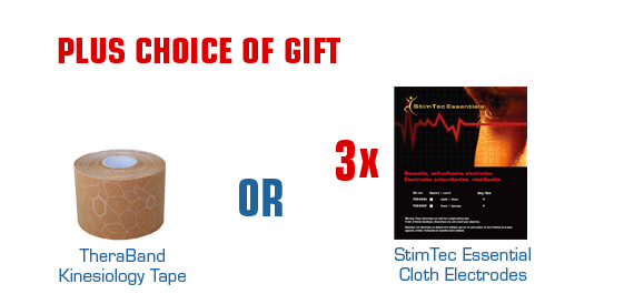 Buy 10 Biofreeze Receive 2 Tubes Free Plus Choice of Gift of Either Theraband Kinesiology Tape or StimTec Essentail Cloth Electrodes