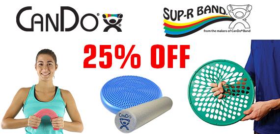 CanDo 25% off Sale