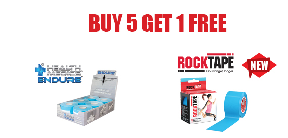Buy 5 Get 1 Free on all Kin Tape